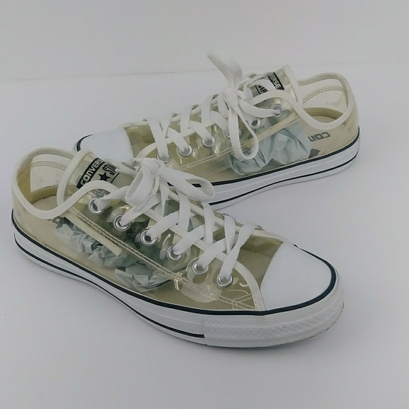 22d17500b090b7 Converse Shoes - Converse All-Star Clear Sneakers Low Top Chucks